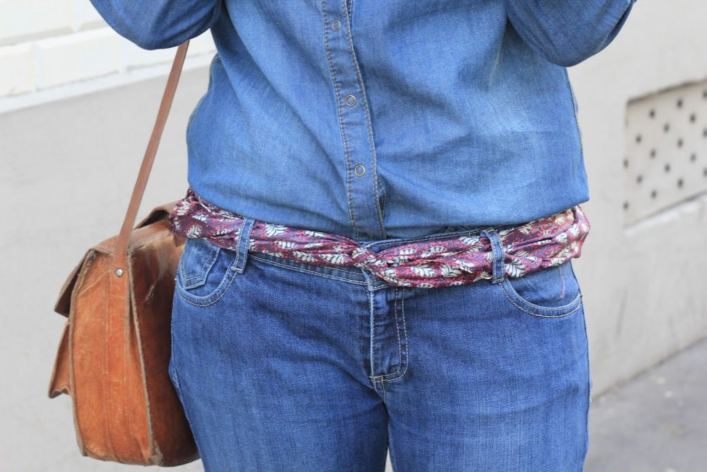 foulard ceinture