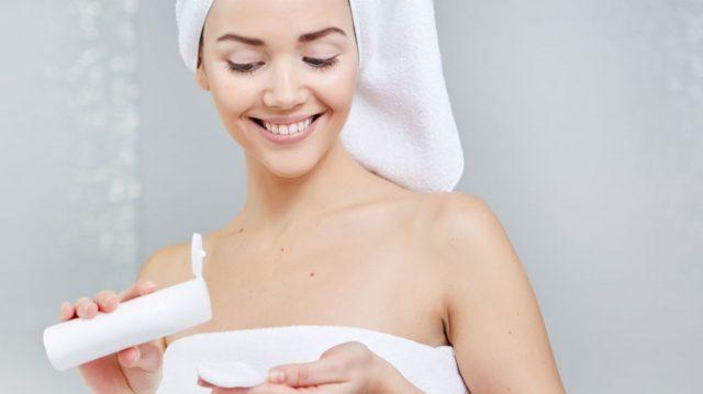 prendre soin de votre peau