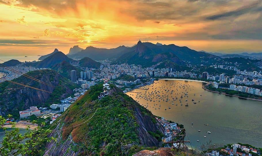 Beau paysage au brésil
